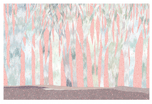 Load image into Gallery viewer, Pink Forest Postcard
