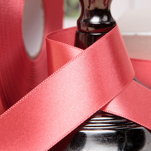 Satin Ribbon - Salmon Pink