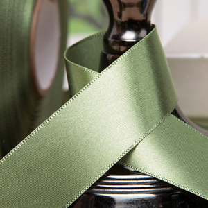 Satin Ribbon - Sage  Green