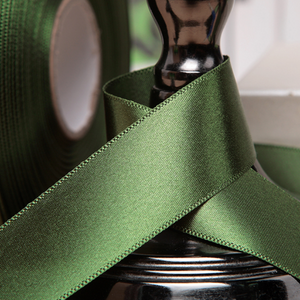 Satin Ribbon - Pine Green