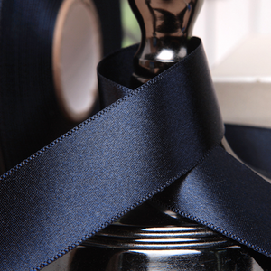 Satin Ribbon - Navy Blue