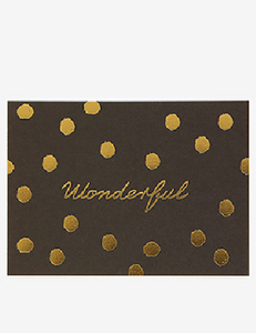 Message Card - Wonderful