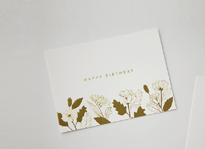 Message Card - Happy Birthday