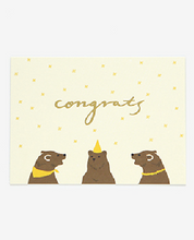 Load image into Gallery viewer, Message Card - Grizzly Bear