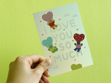 Load image into Gallery viewer, Hologram Card - 04 Love