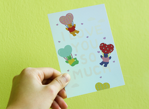 Hologram Card - 04 Love