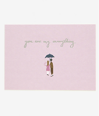 Message Card - Rainy Day