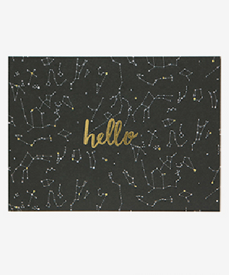 Message Card - Constellation