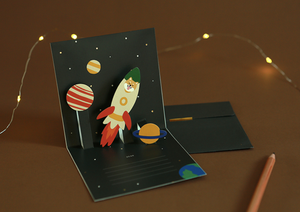 Daily Pop Up Card - 13 Universe