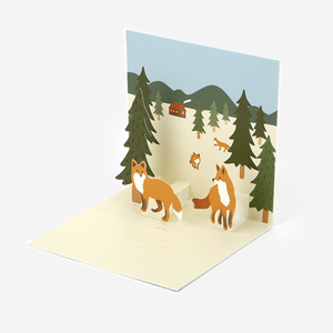 Daily Pop Up Card - 14 Fox
