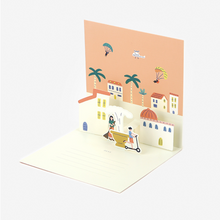 Load image into Gallery viewer, Daily Pop Up Card - 18 Village