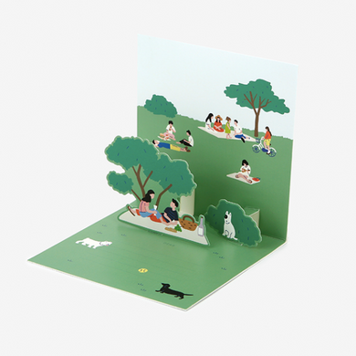 Daily Pop Up Card - 19 Park