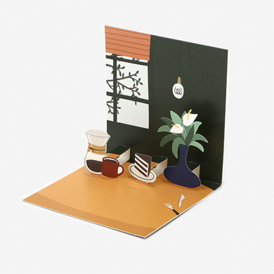 Daily Pop Up Card - 20 Table