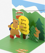 Load image into Gallery viewer, Daily Pop Up Card - 16 Bear