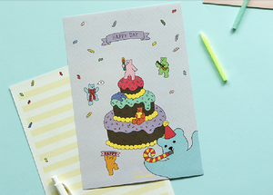 Daily Letter (Jelly Bear) - Party