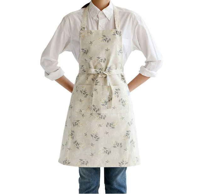 Basic Apron - Lace Flower