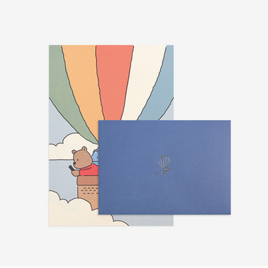 Daily Letter (My Buddy) - Hot Air Balloon