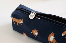 Load image into Gallery viewer, Canvas Strap Pencase - Winter Fox