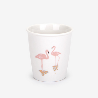 Morning Cup - Flamingo