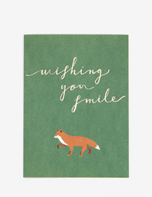 Notecard - Wishing You Smile