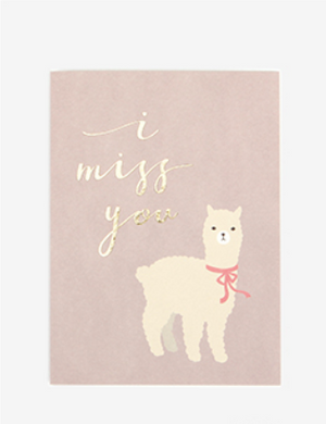 Notecard - I Miss You