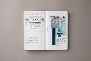 Moment - Monthly Dateless Diary (Small)