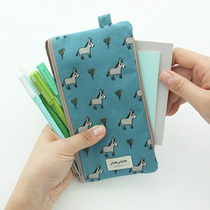 Jam Jam Double Zipper Pouch