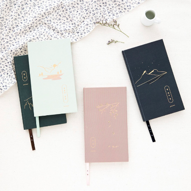 Sihwa Diary - 3 Month Dateless Journal