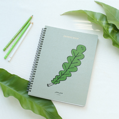 Jam Jam Spiral Drawing Notebook