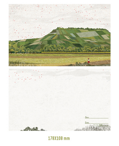 Farm Fields Postcard