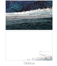 Load image into Gallery viewer, Midnight Winter Forest Postcard