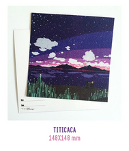 Load image into Gallery viewer, Titicaca Postcard
