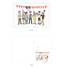 Load image into Gallery viewer, Happy Birthday Postcard