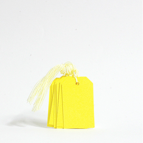 Gift Tag Set - MTOO5- Yellow