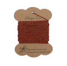 Load image into Gallery viewer, String Series 3 - Red & Khaki