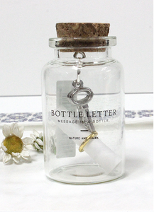 Keys Bottle Letter