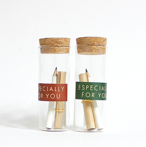 """""""Especially for You"""" Pencil Bottle Letter"""