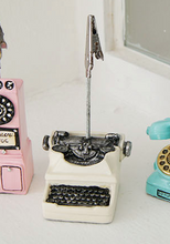 Load image into Gallery viewer, Miniature Figurine Clips - Phones and Typewriter
