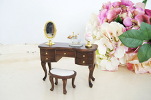 Load image into Gallery viewer, Miniature Classic Wood Vanity Set