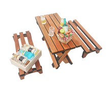 Load image into Gallery viewer, Miniature Antique Picnic Set