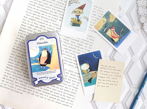 Classic Mini Postcards & Stickers - Pinocchio