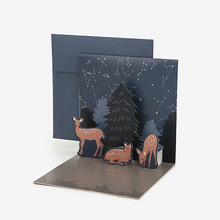 Load image into Gallery viewer, Daily Pop Up Card - 05 Deer