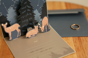 Daily Pop Up Card - 05 Deer