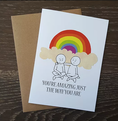Amazing Just The Way You Are - Greeting Card