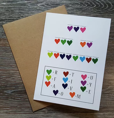 Crack The Code - Greeting Card