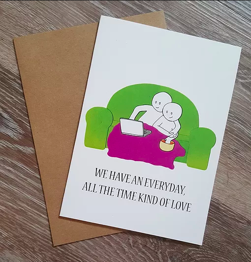 Kind of Love - Greeting Card