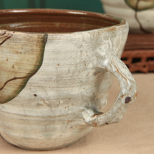 Load image into Gallery viewer, Buncheong Green Leaf Ceramic Mug