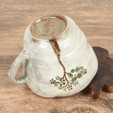 Load image into Gallery viewer, Buncheong Green Tree Ceramic Mug