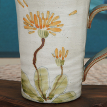 Load image into Gallery viewer, Buncheong Dandelion Ceramic Mug