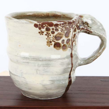 Load image into Gallery viewer, Buncheong Large Brown Tree Ceramic Mug